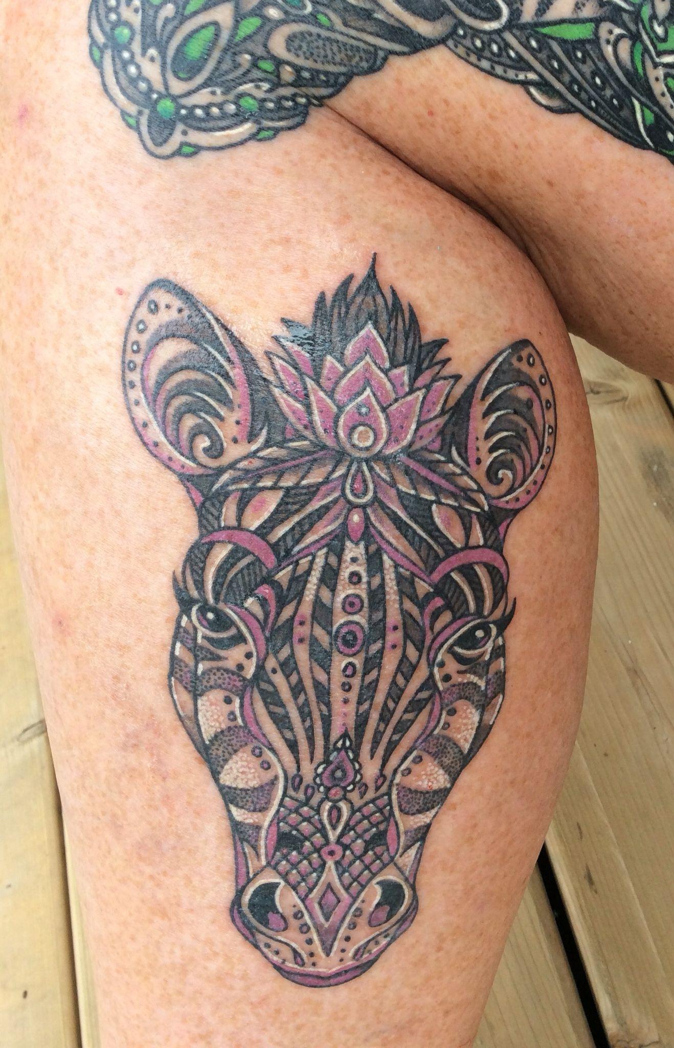 Mandala Zebra Tattoo | Tattoo | Pinterest | Zebra tattoos, Tattoo ...