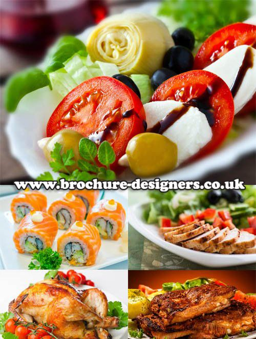Healthy Food Images Ideal For Weight Loss Slimming Leaflet Design