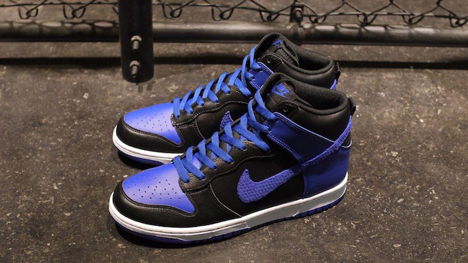 Nike Dunks High (Black Duke Blue White)  d3390116d4
