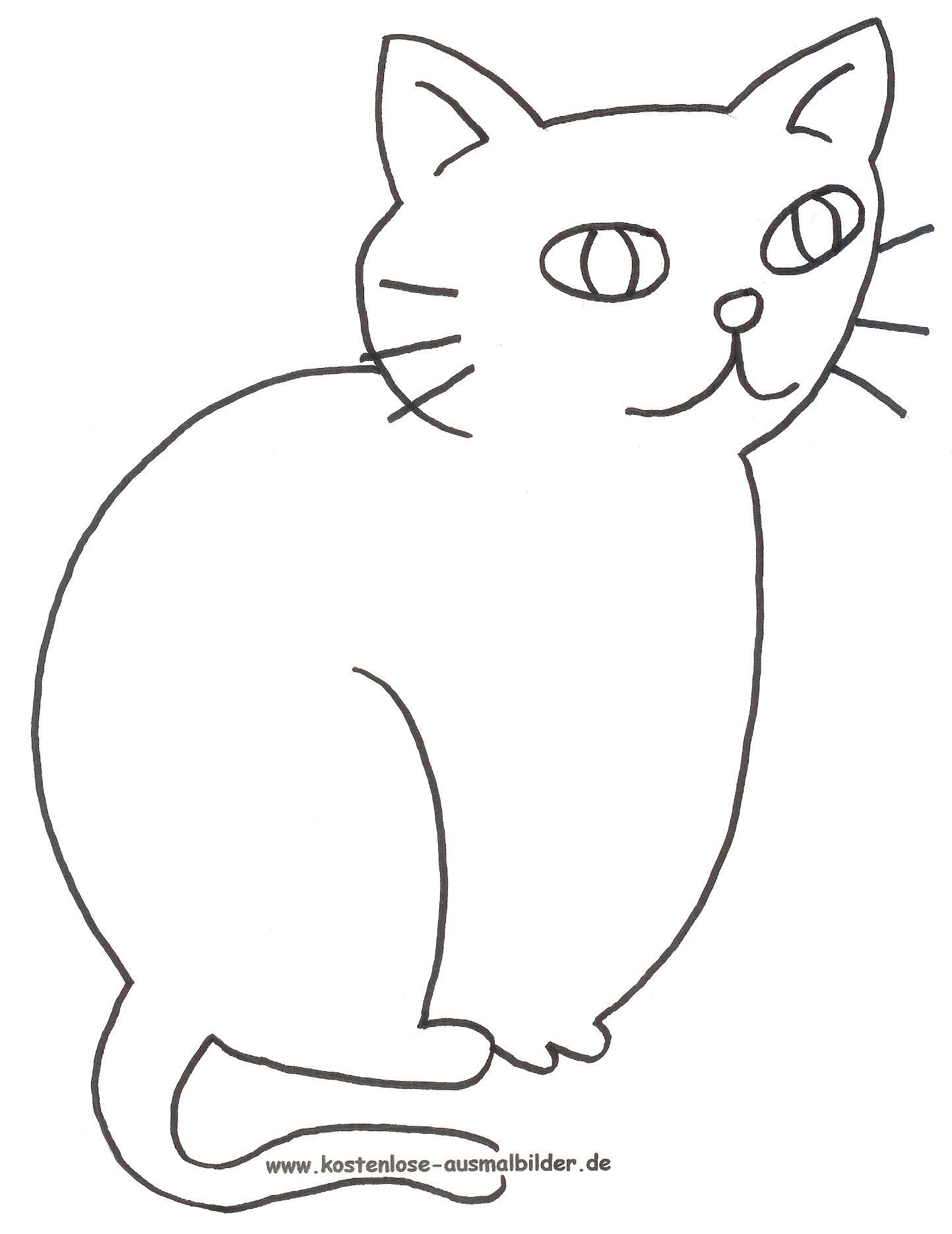 Katze.jpg (1443×1871) | Malvorlagen / colering | Pinterest ...