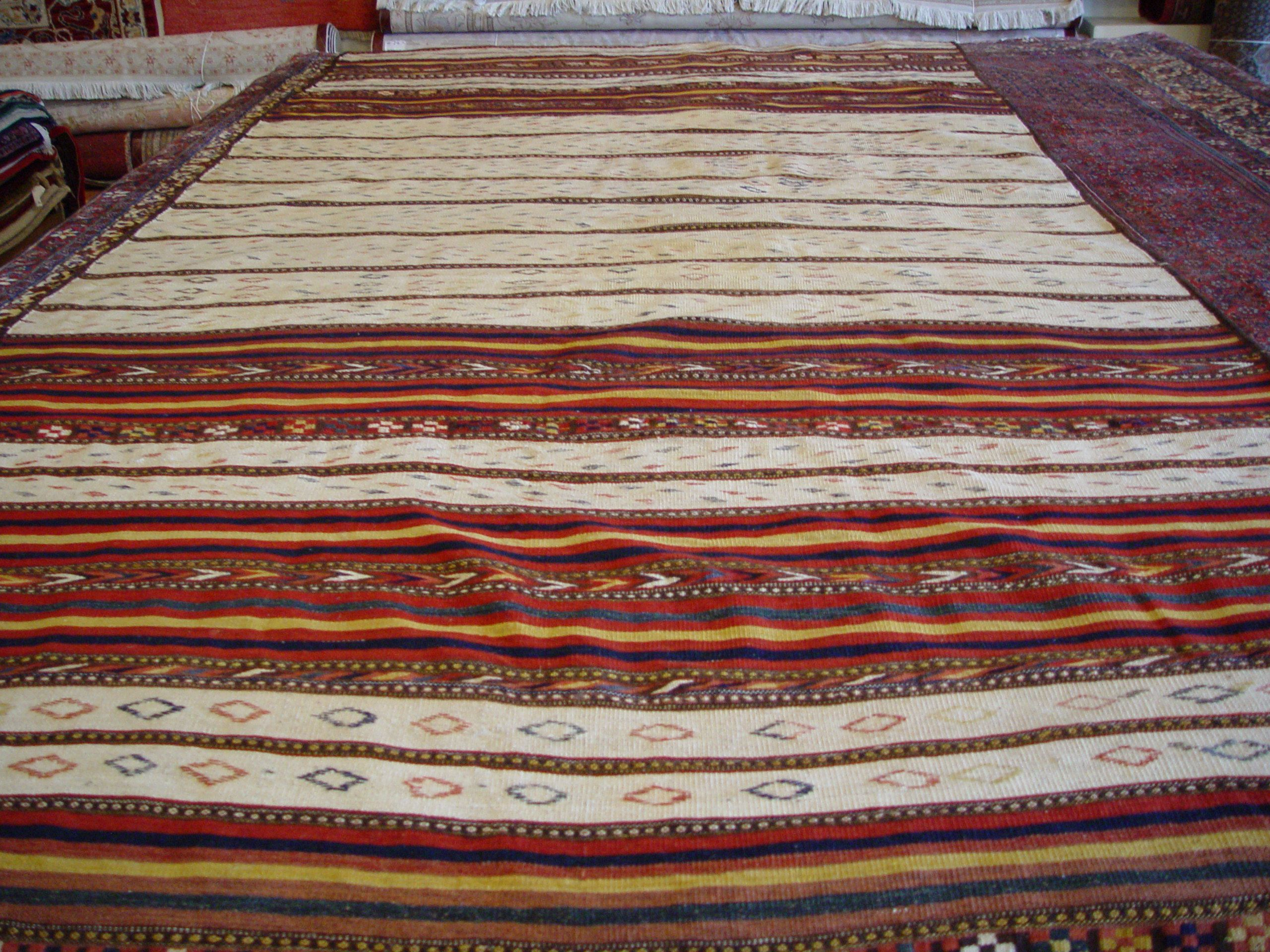 A Collector Quality Persian Flat Weave Sumac Kilim A Flat Weave Rug Means There Is No Pile Rugs Flat Weave Kilim
