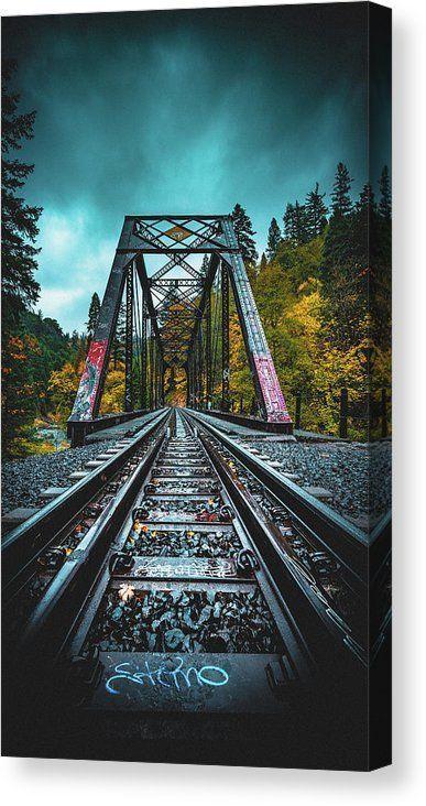 Dunsmir Bridge Canvas Print / Canvas Art by Kyle Duffy