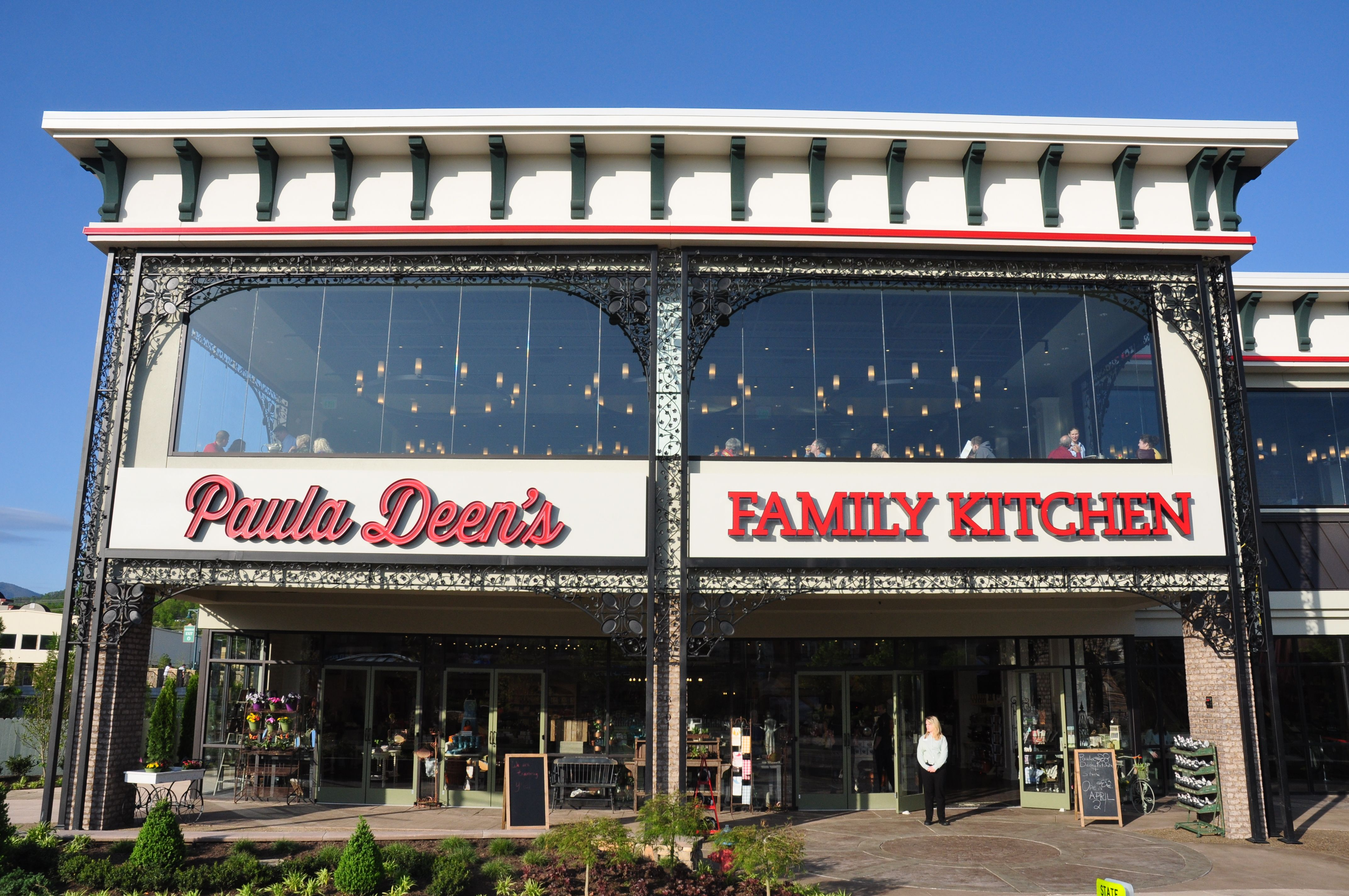 Paula Deen's Family Kitchen in Pigeon is located at