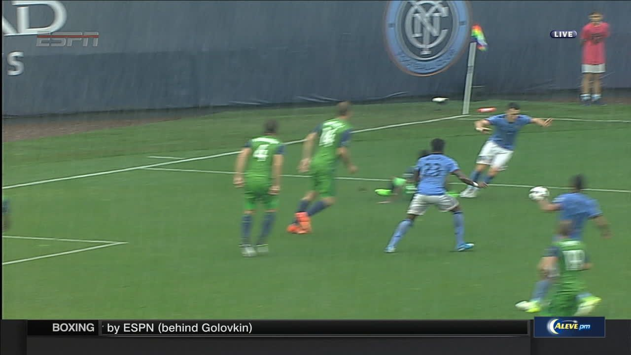 WATCH: Did NYCFC's Harrison deserve a penalty?