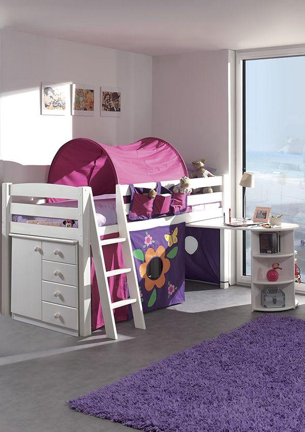 Decouvrez Nos Lits Superposes Et Mezzanines En Bois Massif Deco Chambre Enfant Lit Compact Mobilier En Bois