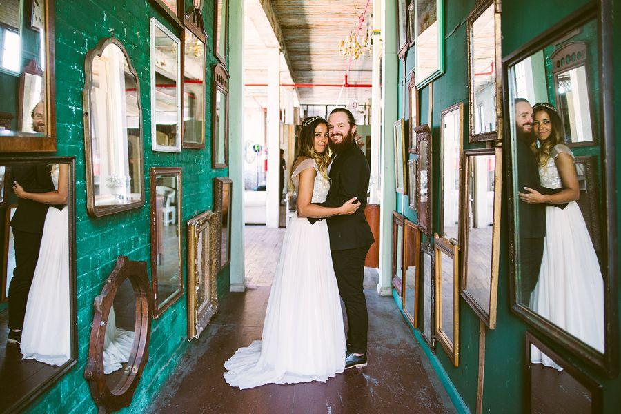 {Ty + Steph / Married}    The Metropolitan Building / Long Island City/NYC/ Spanglish Studios Photography/ Bridal Portraits / Brooklyn Wedding Photographer