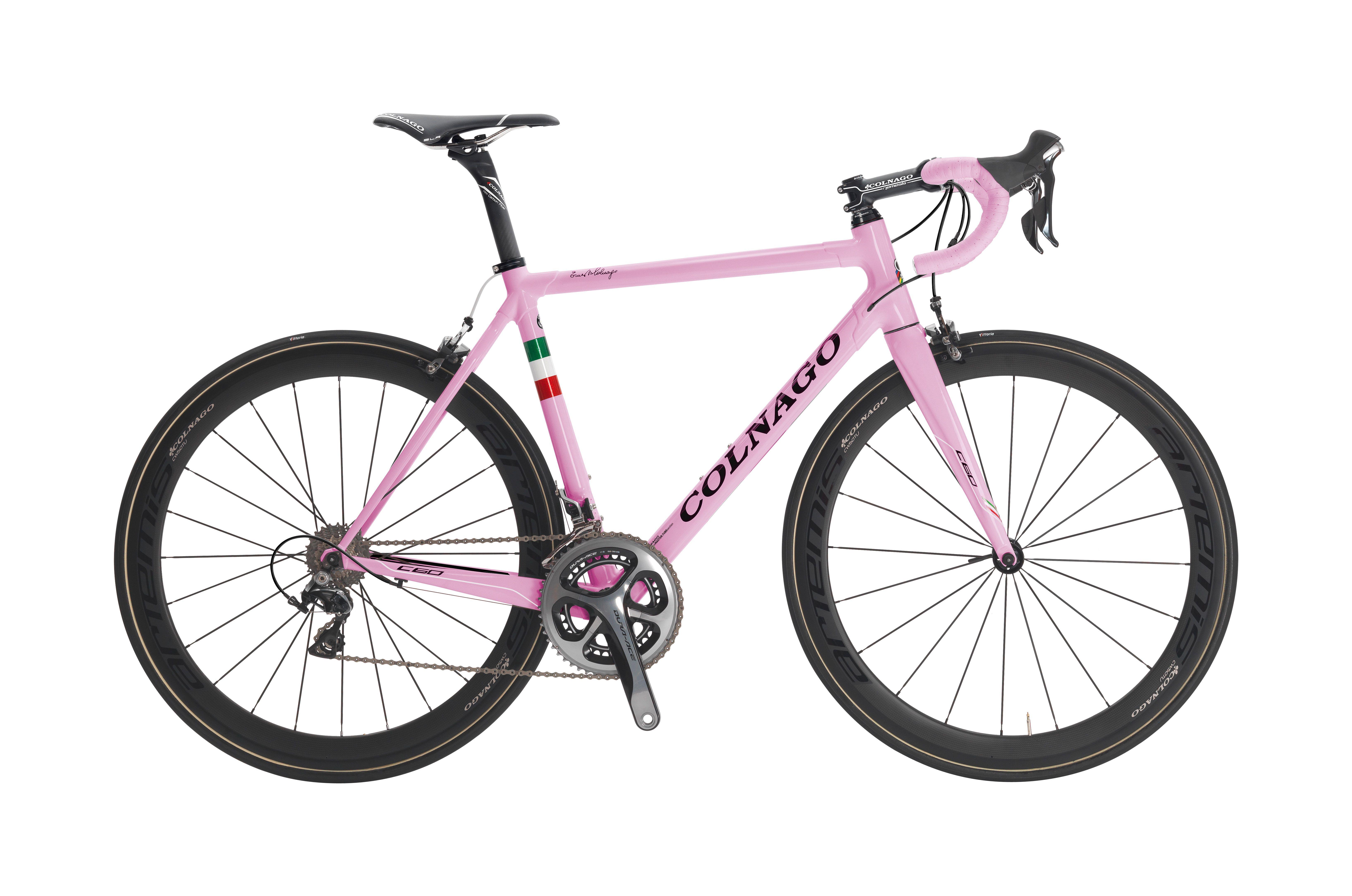 Colnago C60 Italia Pink Bicicletas Bici Ciclismo