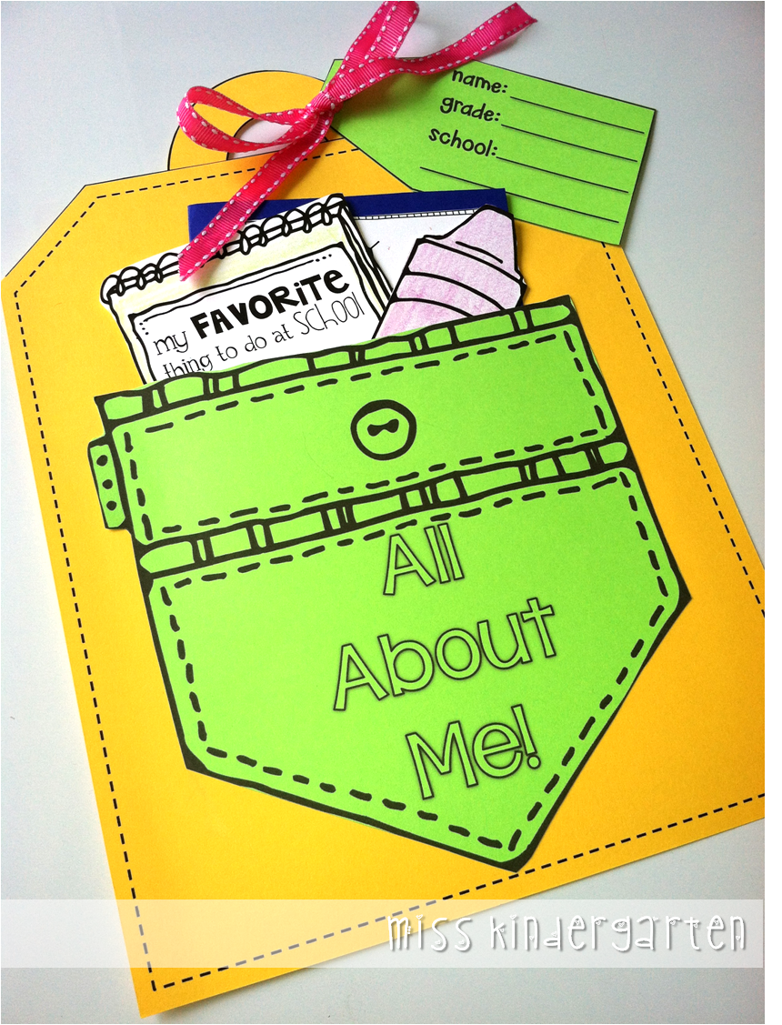 All About Me Craft A Giveaway Preschool Ideas Miss