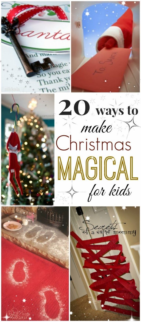 Christmas Traditions For Kids With Images Holidays