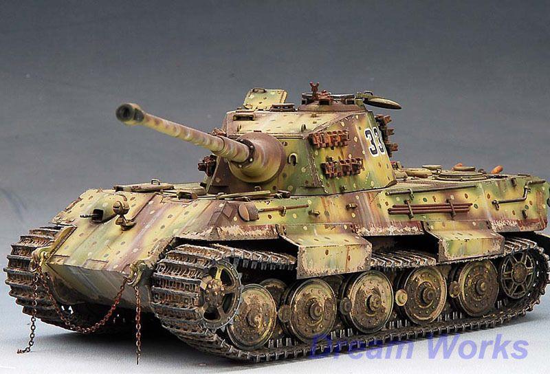 Award winner built Dragon 1/35 Kingtiger H +PE in Toys & Hobbies, Models & Kits, Military | eBay