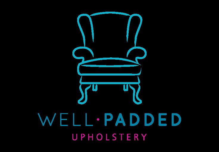 Well Padded Upholstery Logo Designed