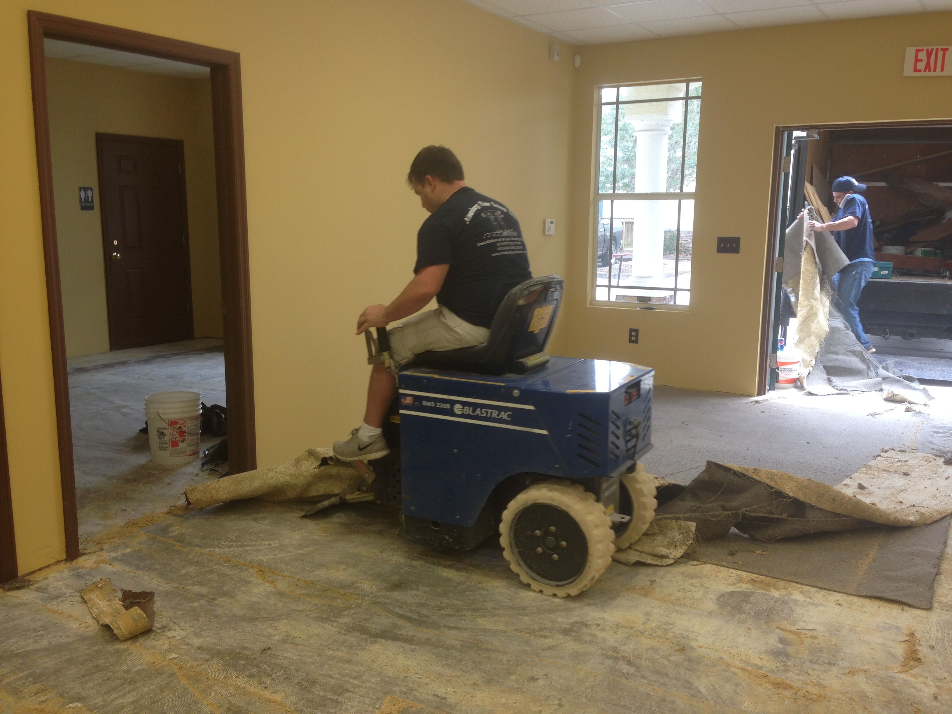 Old Flooring Removal Machine Flooring Removal Projects
