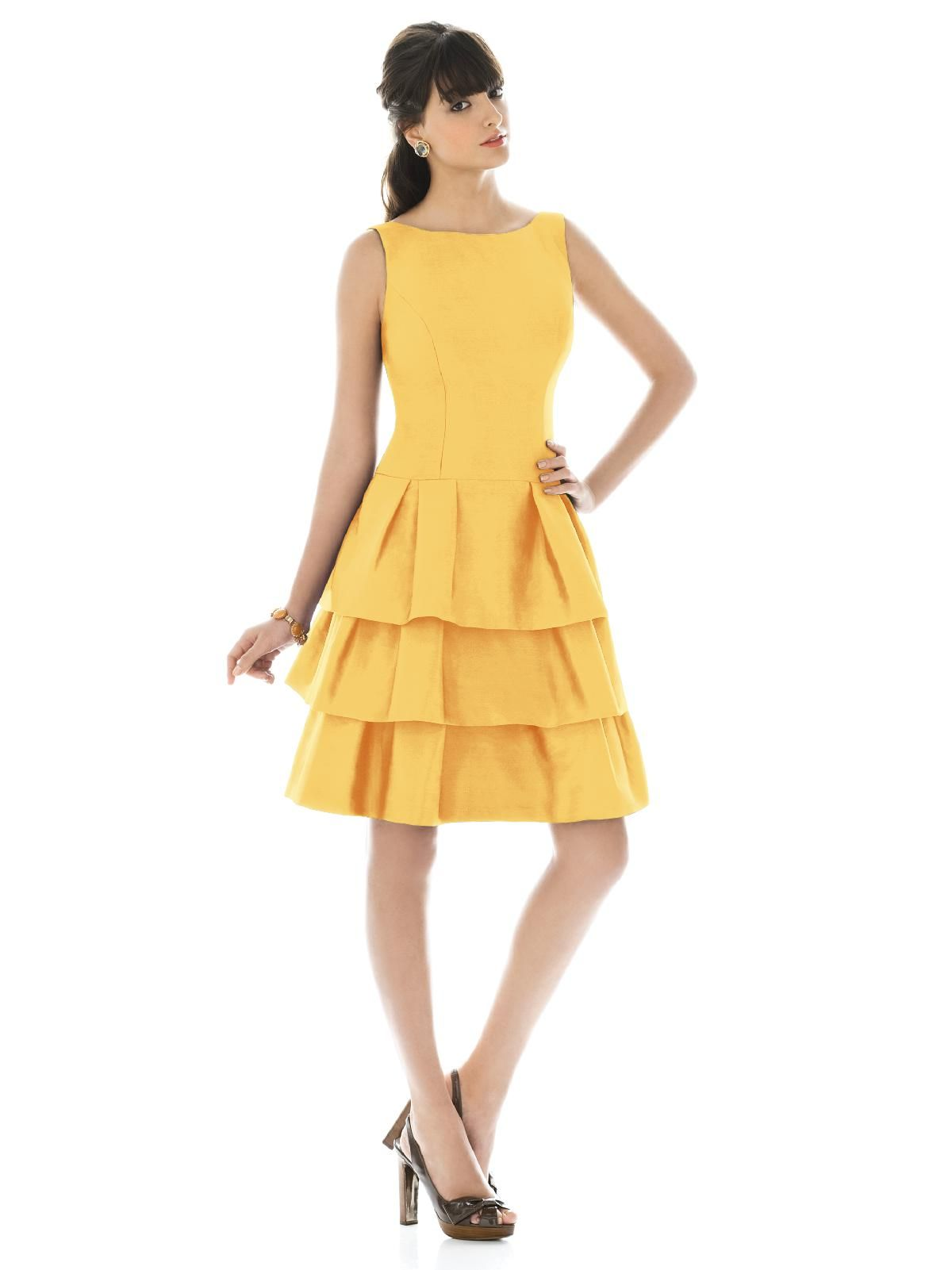 Alfred sung style d464 mango color dress pinterest alfred alfred sung bridesmaid dresses alfred sung style d464 mango ombrellifo Choice Image