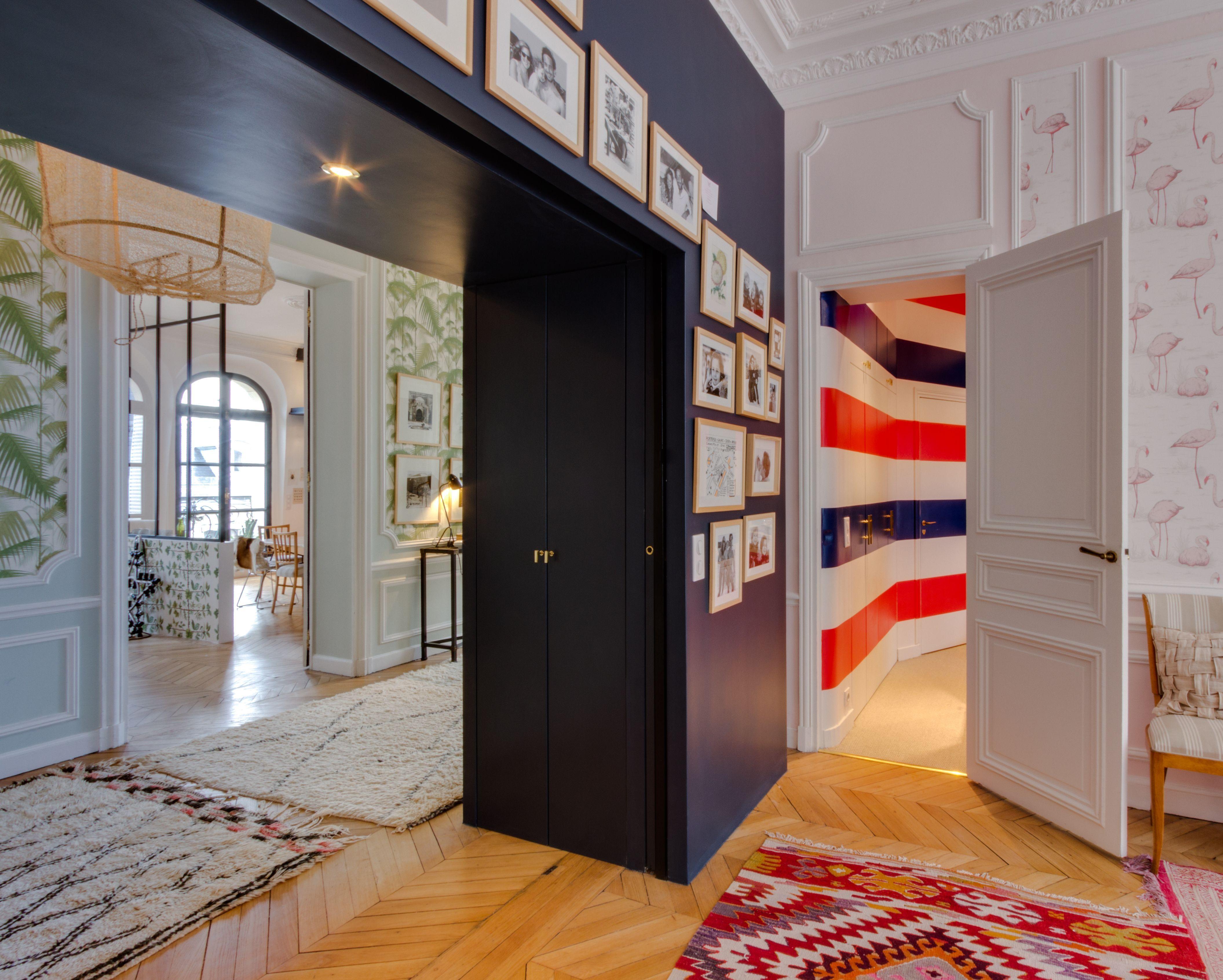 Couloir Appartement parisien 240m2- GCG Architectes | decor ...
