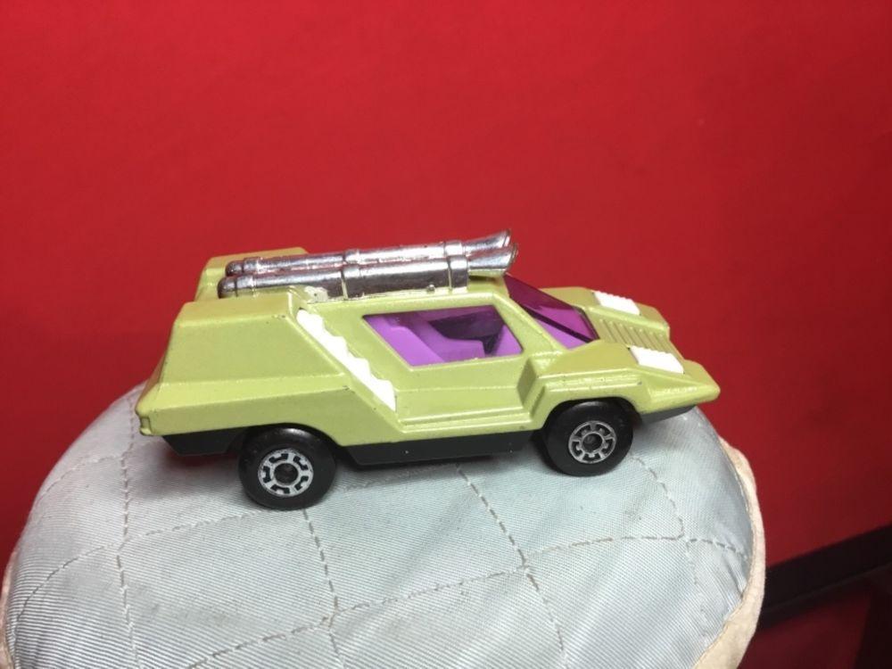 RARE VINTAGE 1975 LESNEY MATCHBOX SUPERFAST 68B AVOCADO