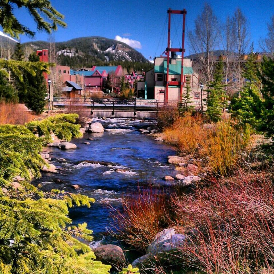 Colorado Images: Summer Days By The Creek #breckenridge
