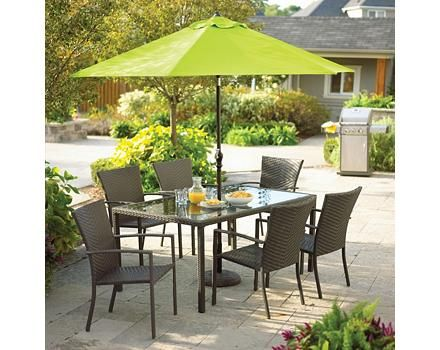 outdoor dining set swivel chairs cabana collection cashmere wicker patio chair tire round sets on sale target