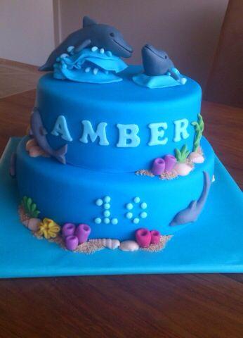 Cake Art Rabia : Dolfijntaart - taarten Pinterest - Vakantie taarten ...