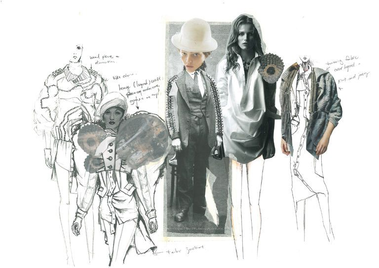 Design Development Fashion Design Portfolio Sketch Book Fashion Design Sketchbook