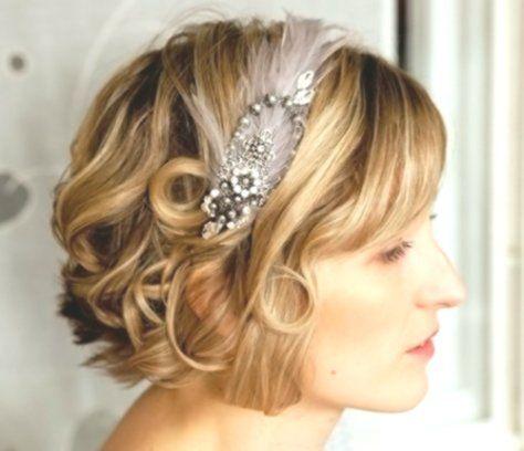 20 Most Glamorous Short Wedding Hairstyles