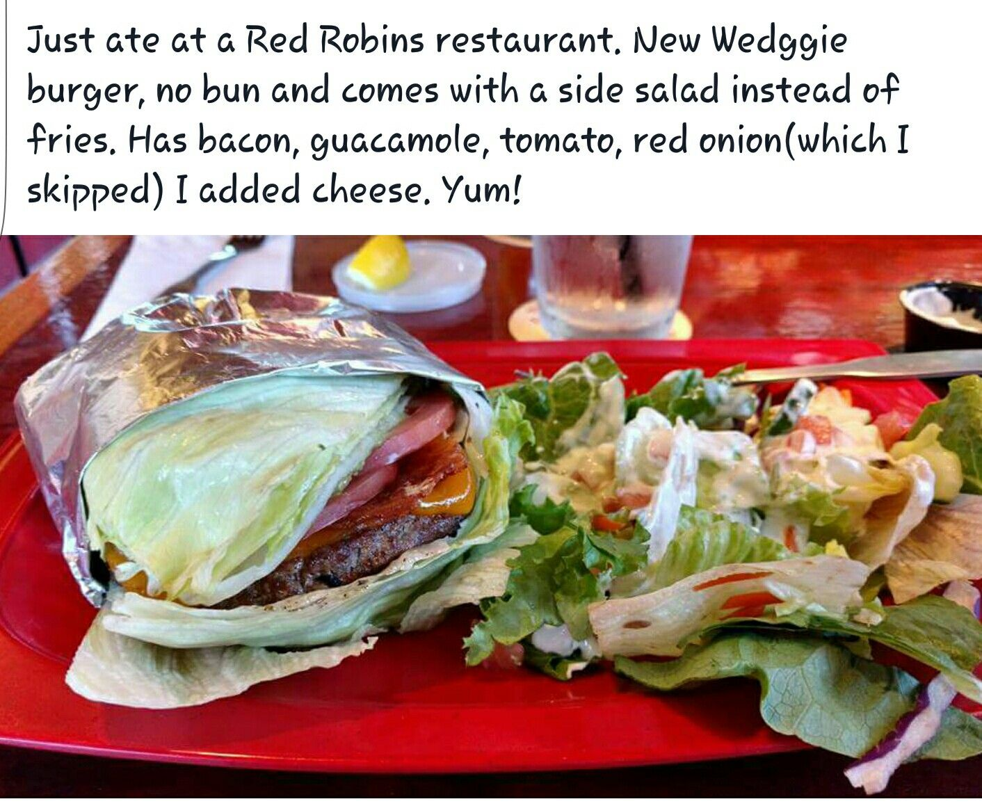 Red Robin Low Carb