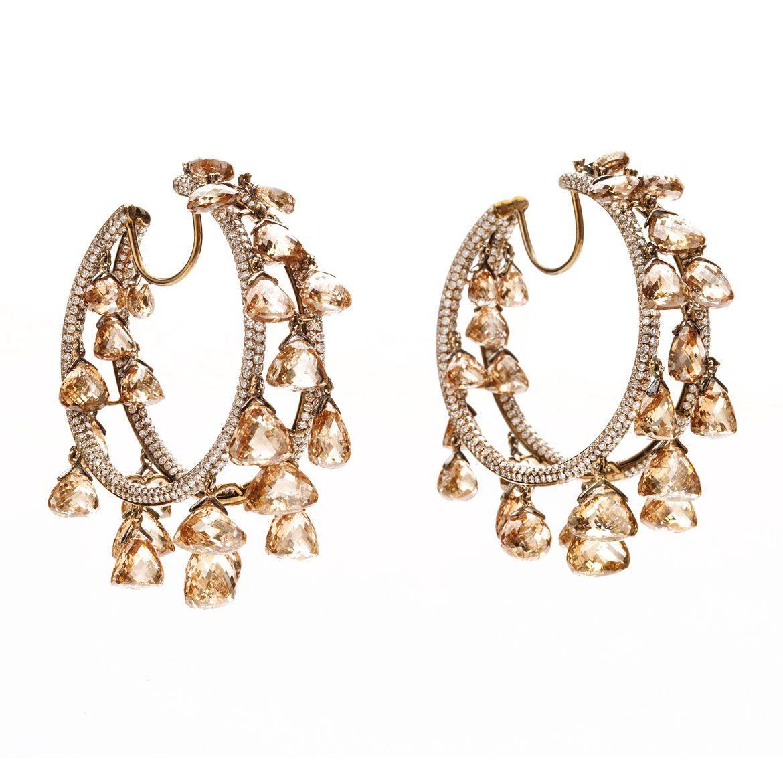 By Viren Bhagat. Bridelan - Personal shopper & style consultants for Indian/NRI weddings, website www.bridelan.com #VirenBhagat #Diamonds #Emeralds #Rubies #DiamondJewellery #IndianWeddingJewellery #Bridelan #BridelanIndia #JewelleryInspiration #PersonalShopperIndia #diamondhoopearrings