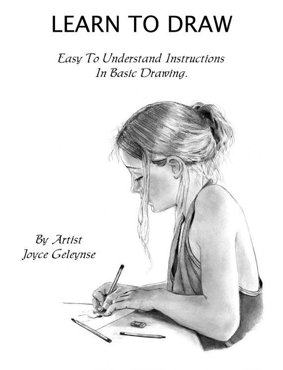 How to draw realistically learn pencil art pdf tutorial instant download learn