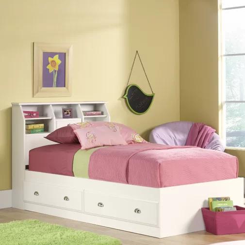 Three Posts Olney Storage Platform Bed Reviews Wayfair Childrens Bedroom Furniture Twin Storage Bed Girls Bedroom Furniture