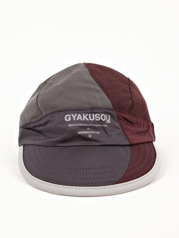 dbd2064b43aac Nike Gyakusou Men s Burgundy Grey AS UC Dri-Fit Mesh Running Cap ...
