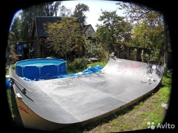 Рампа для скейтборда