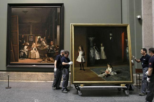 «Las Meninas» reciben una singular visita en el Museo del Prado