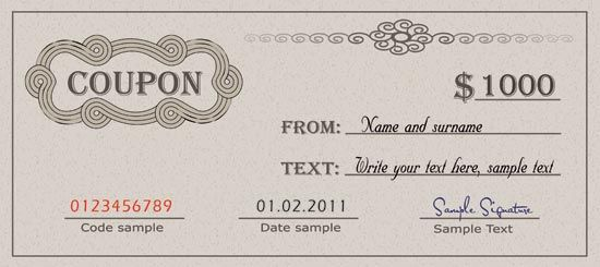 coupon template download diploma certificate and with templates - coupon template