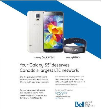 Bell wireless phone