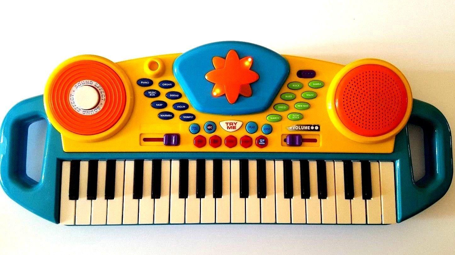 Kids Electronic Keyboard Disco Effect Sound Musical 37 Keys