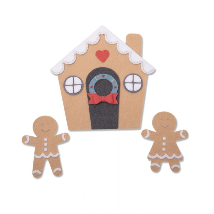 Sizzix Bigz Plus Die Gingerbread House (With images