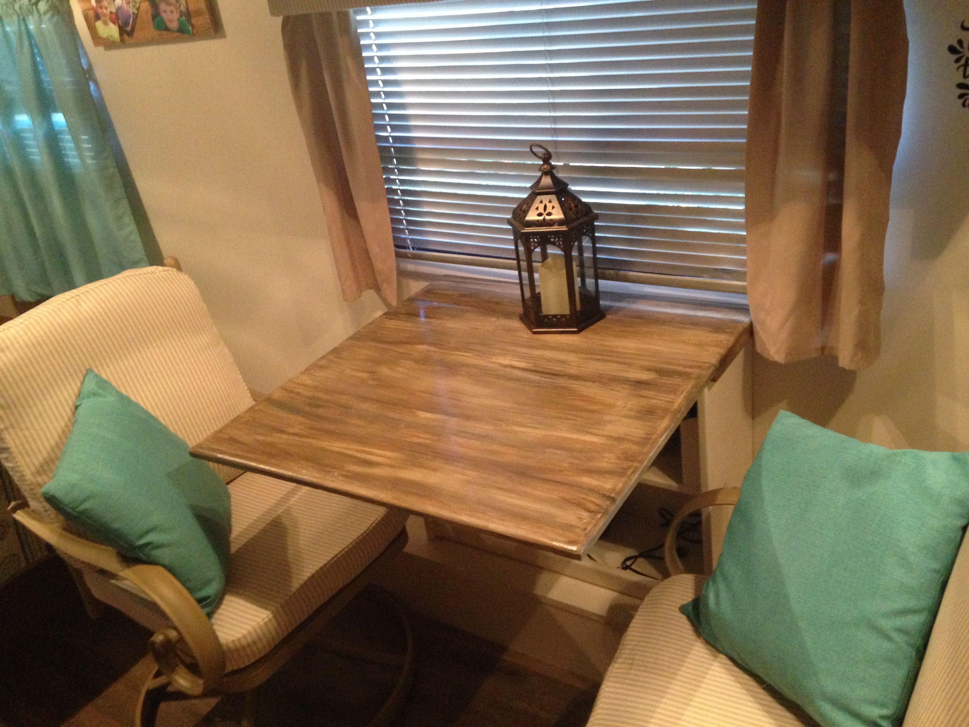 Fine Took Out The Dinette And Bench Seats In The Camper Replaced Andrewgaddart Wooden Chair Designs For Living Room Andrewgaddartcom