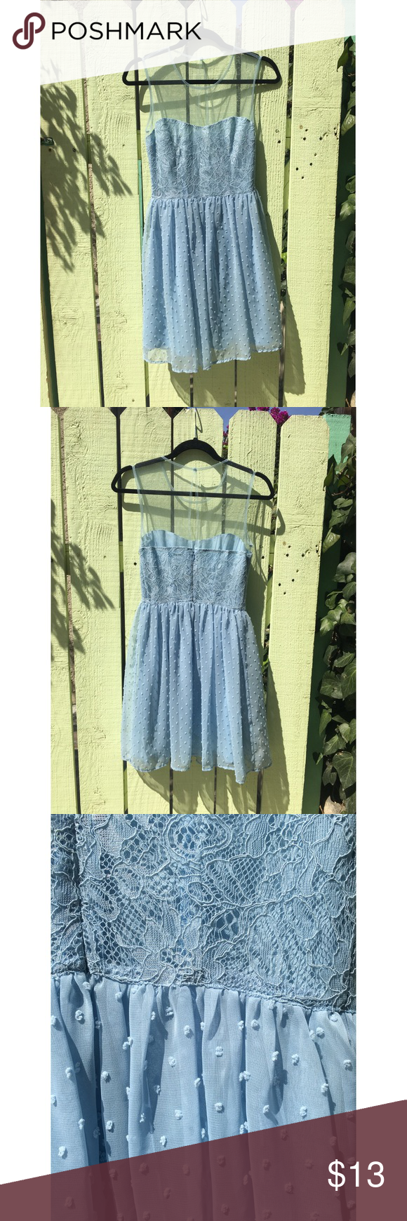 Rodarte For Target Baby Blue Dress Sz 5 This Baby Blue Dress Is Dreamy The Details Are On The Bodice And Skirt Baby Blue Dresses Blue Dresses Clothes Design [ 1740 x 580 Pixel ]