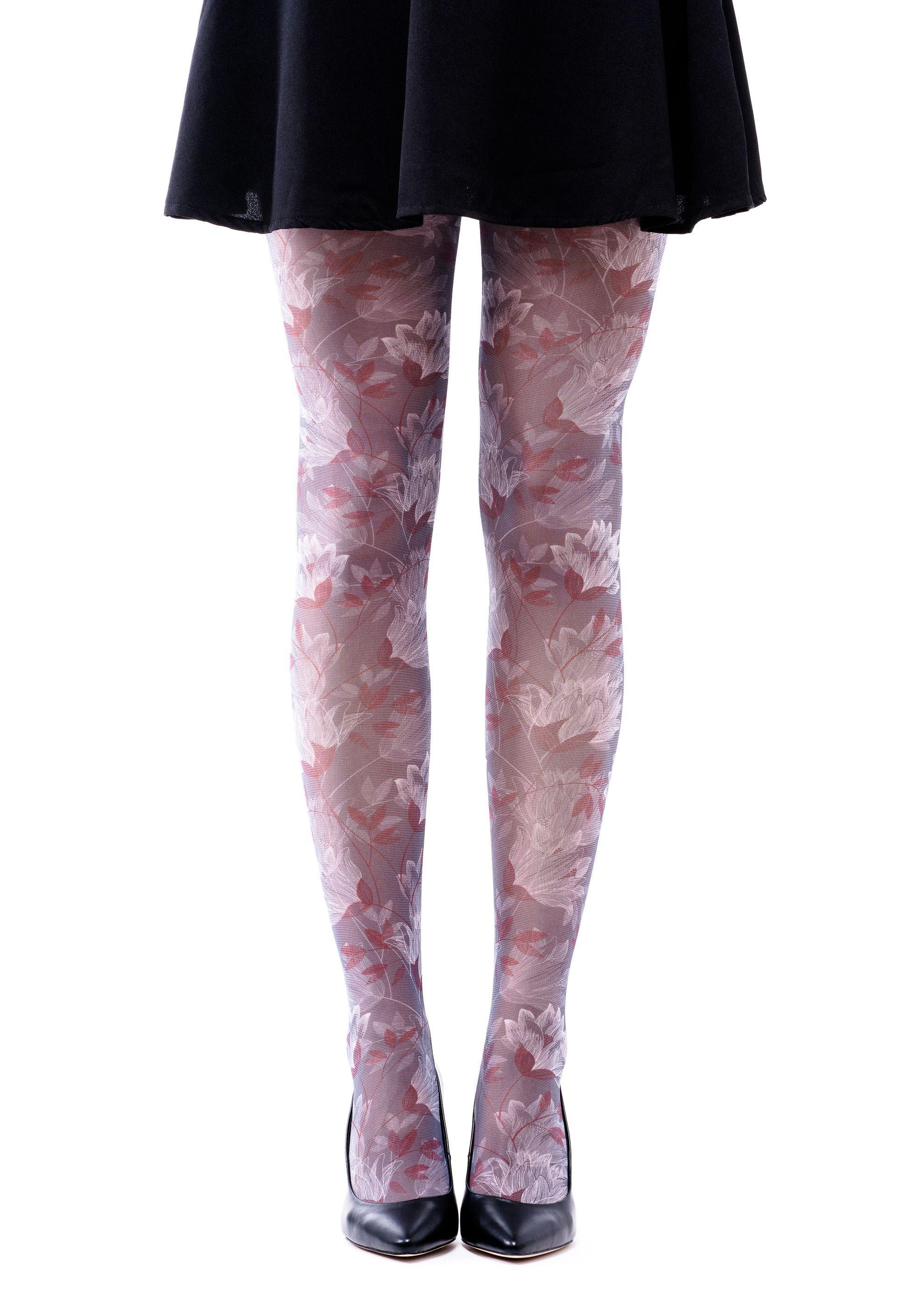 6624e1e4e2fd8 Nika Full-Leg Model Tights - Romantic Flowers in 2018   Nika-F ...
