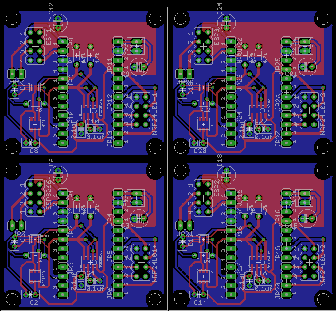 Panelizing and Gerber generation in Eagle | pcb prototyping | Pinterest