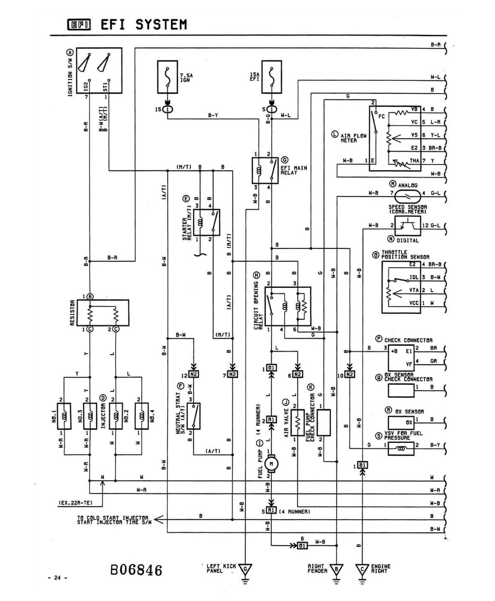 22r Wiring Diagram