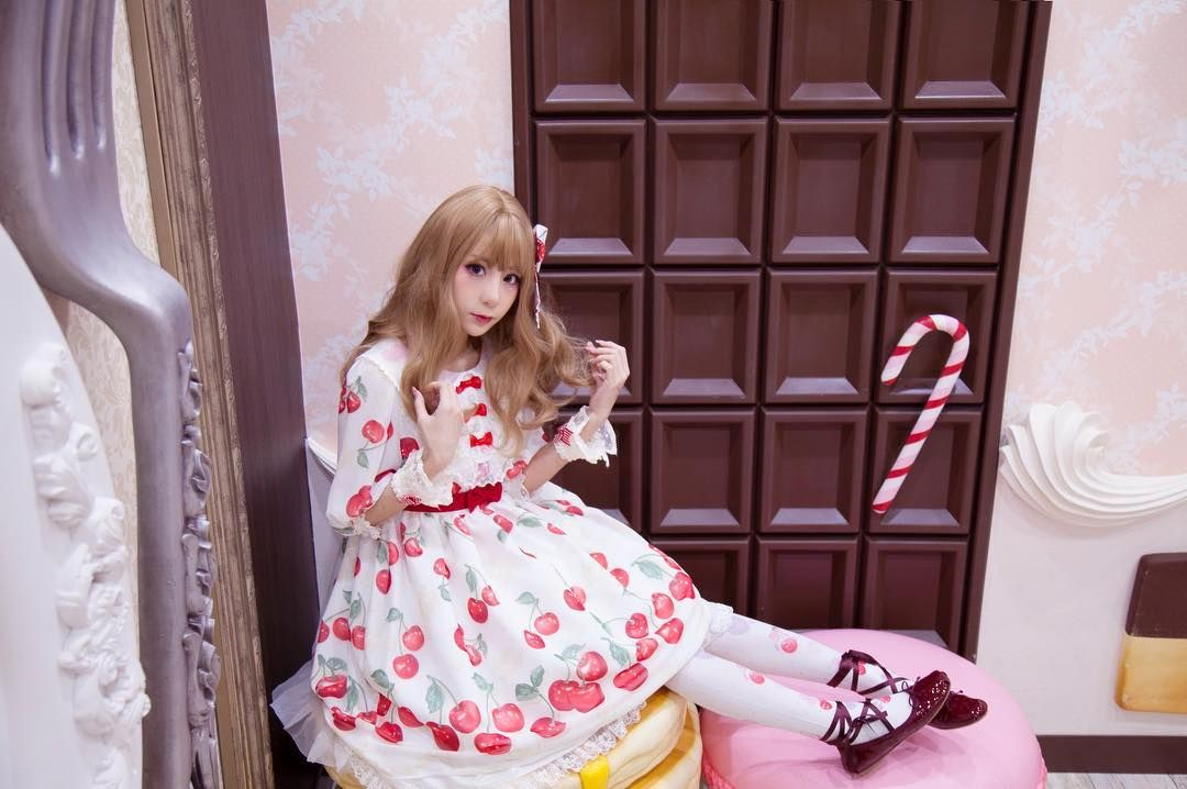 "344 Me gusta, 1 comentarios - スイカ (@kyouko_zzz) en Instagram: ""#angelicpretty #lolitastyle #lolitadress #lolitafashion #今日のコーデ"""