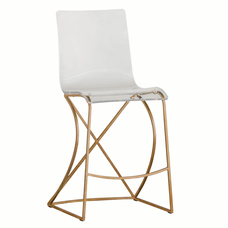 Gabby Furniture Johnson Gold Counter Stool Ghsch151135