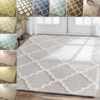 Shop For Nuloom Handmade Alexa Moroccan Trellis Wool Area Rug 5 X