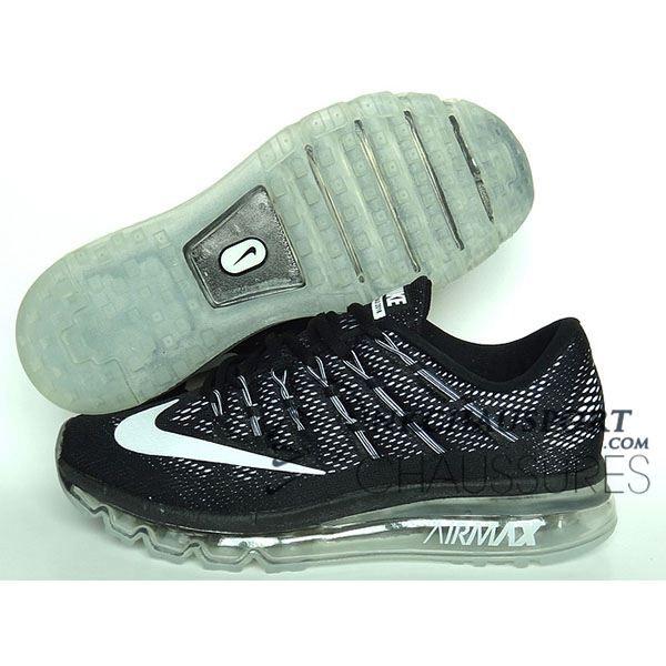 nouvelle arrivee 87430 72177 Nike Air Max 2016   Meilleur Chaussures Running Homme Noir ...