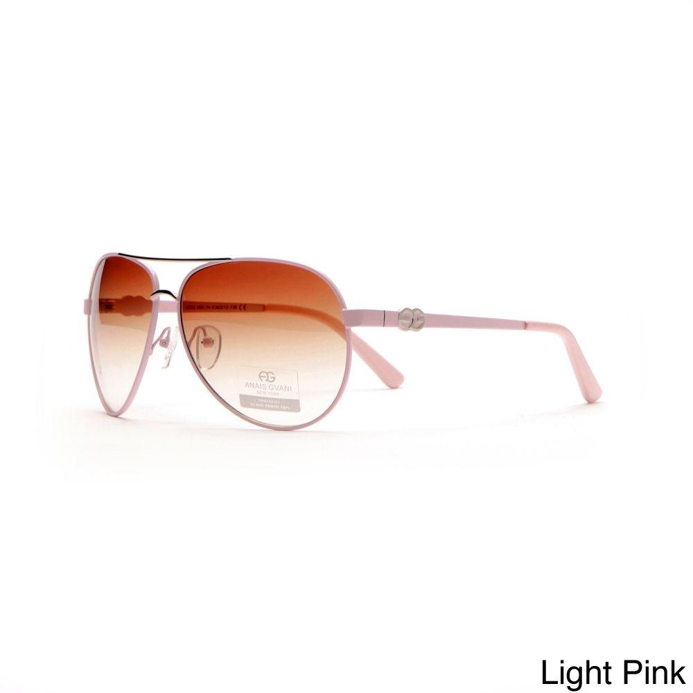 8e8a6394fb Dasein by Anais Gvani Women s Classic Aviator Sunglasses with Logo Accent
