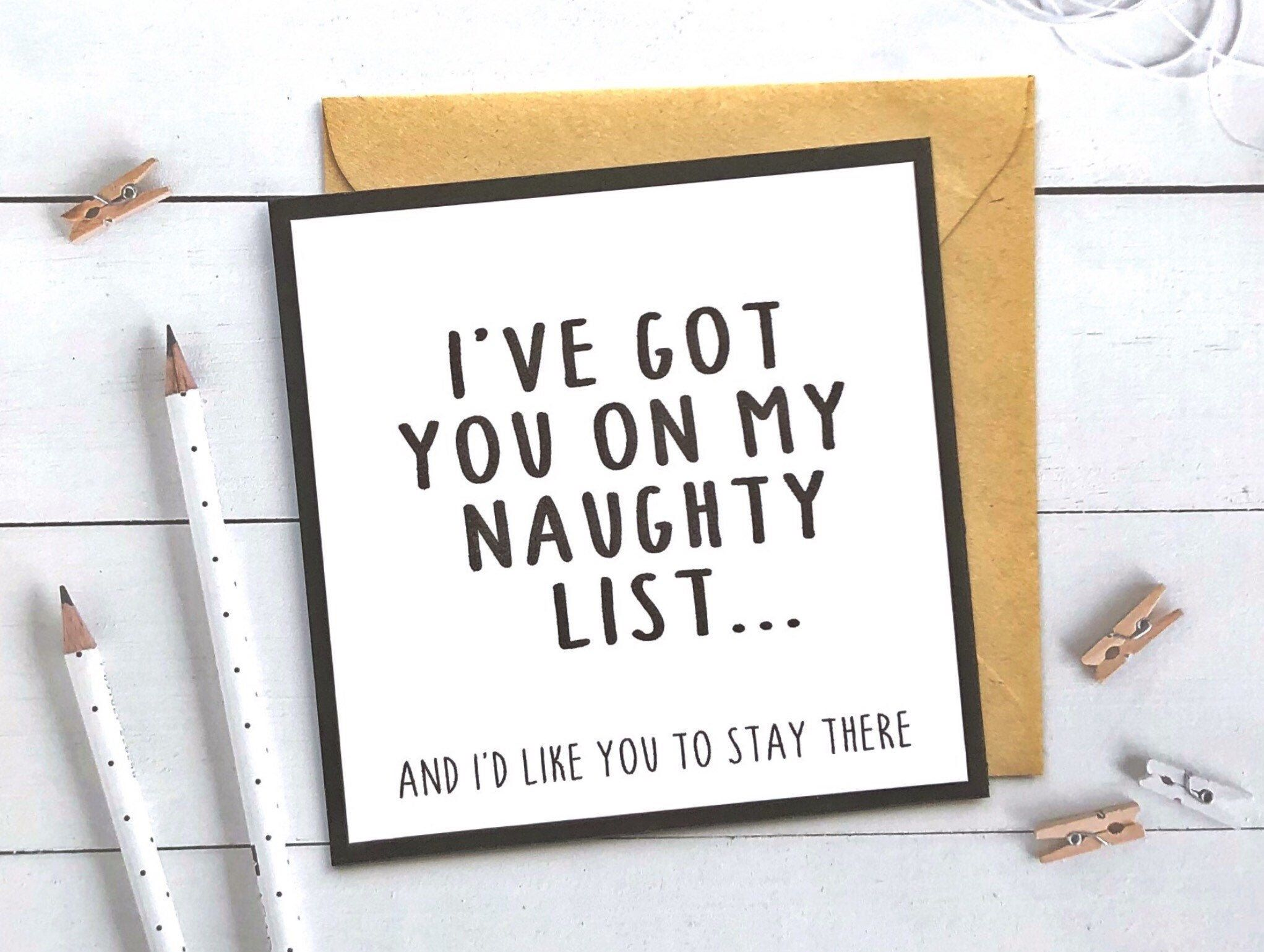 Funny Christmas Card, Boyfriend Christmas Card, Christmas