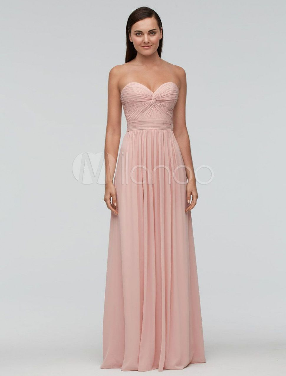 13 altrosa kleid lang   rosa kleid hochzeitsgast, kleid