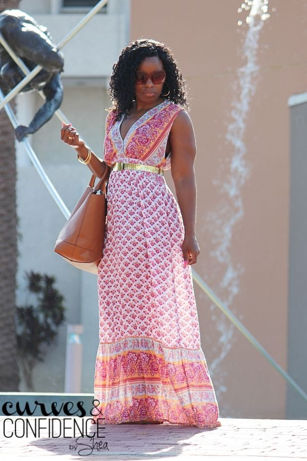 Curves and Confidence   A Miami Style Blogger: Summer Maxi Dress