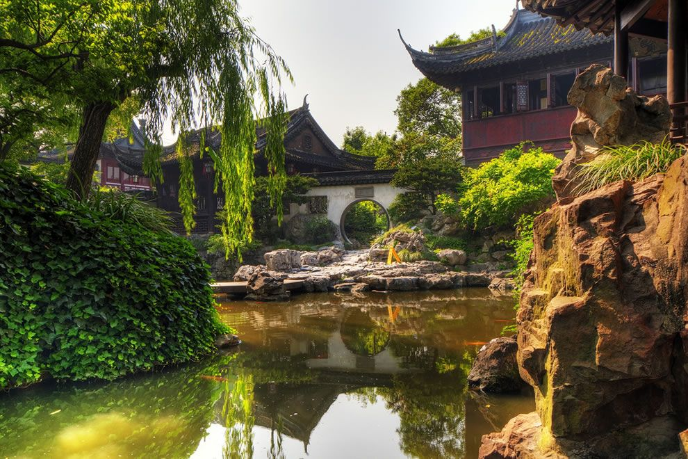 Simple Chinese Gardens Yuyuan Garden China For Amazing Chinese Garden Design Ideas