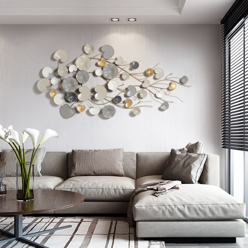 Modern European Wrought Iron Pendant Wall Decoration Living Room Background Wall In 2021 Wall Art Decor Living Room Metal Wall Decor Living Room Wall Decor Living Room